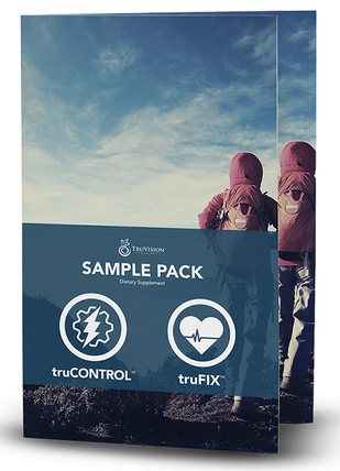 One week sample packet for TruVision Health