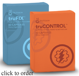 truCONTROL and truFIX Weight Loss Combo-Laci Meacher