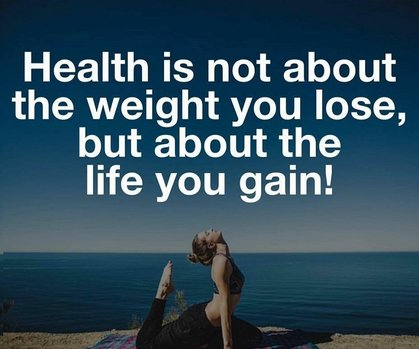 Health is not about the weight you lose, but the life you gain-Laci Meacher TruVision